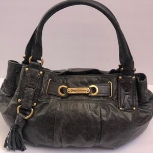 Juicy Couture Handbag Genuine Leather Large Satchl
